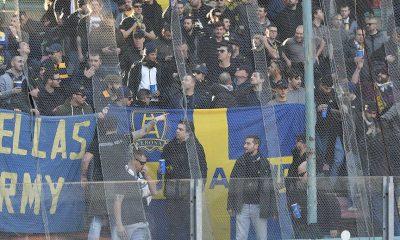 Verona tifosi trasferta