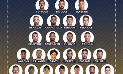 Verona Spal elenco convocati