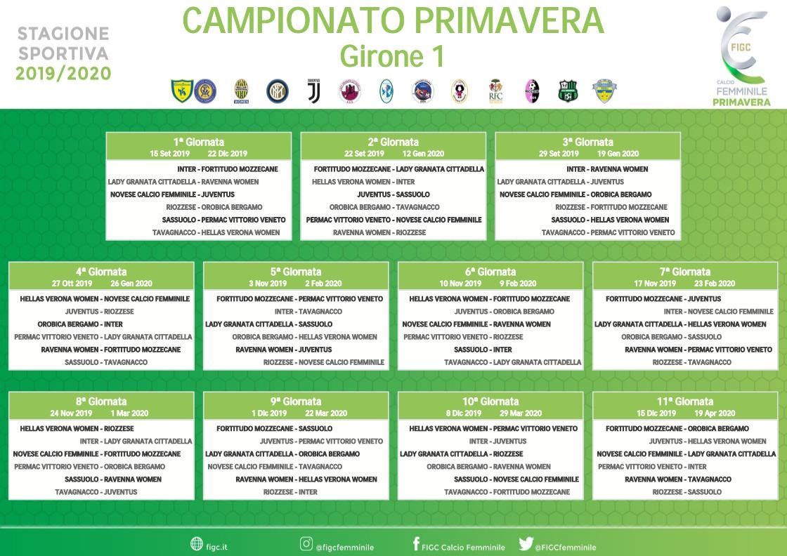 Calendario Verona.Calendario Primavera Calcio Hellas