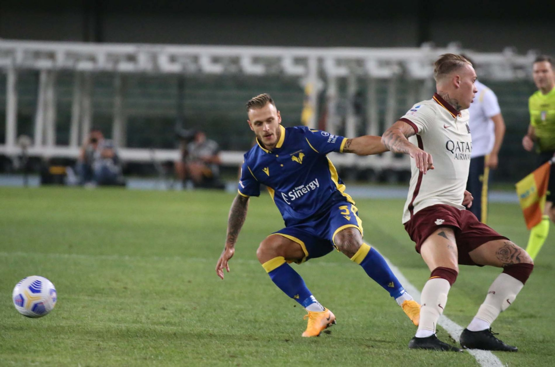 Verona-Roma 0-0, le pagelle gialloblù di CH - Calcio Hellas